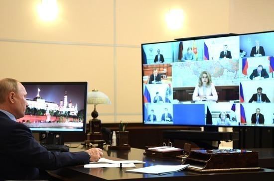 Путин призвал не допустить повторных ограничений из-за COVID-19