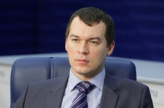 Дегтярев поддержит присвоение Комсомольску-на-Амуре звания города трудовой доблести