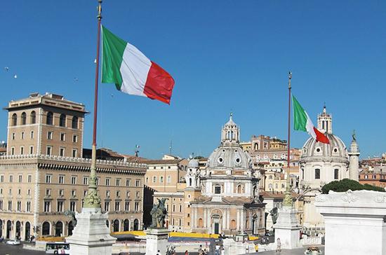 Парламент Италии выступил за продление в стране чрезвычайного положения до 15 октября