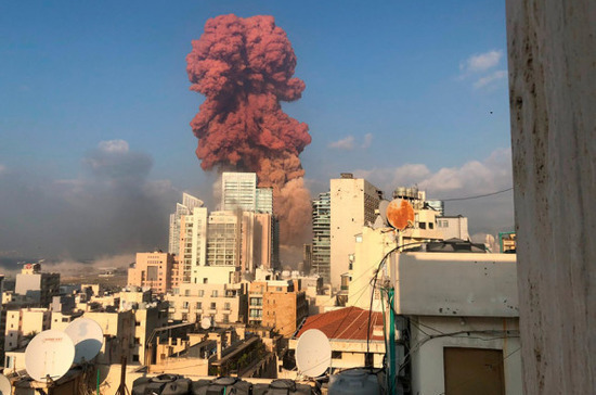 Очевидица рассказала о взрыве в Бейруте