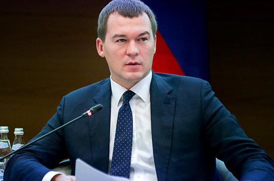 Дегтярев намерен расширить возможности Хабаровского края для участия в госпрограммах
