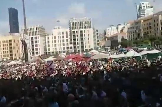 В Бейруте в ходе беспорядков пострадали 58 человек