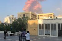 Сотрудники МЧС завершили поисково-спасательные работы на месте взрыва в Бейруте
