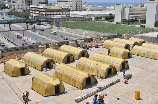 Специалисты МЧС России планируют работать в Бейруте до 15 августа