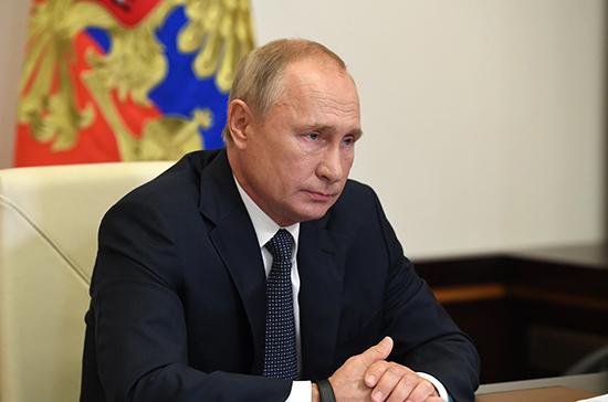 Путин поручил проанализировать неготовность четверти школ к организации горячего питания