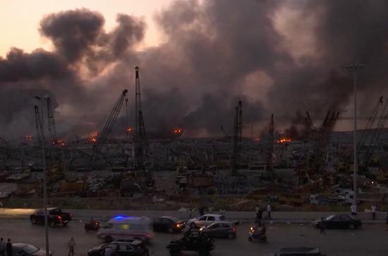 Парламент Ливана утвердил введение чрезвычайного положения в Бейруте