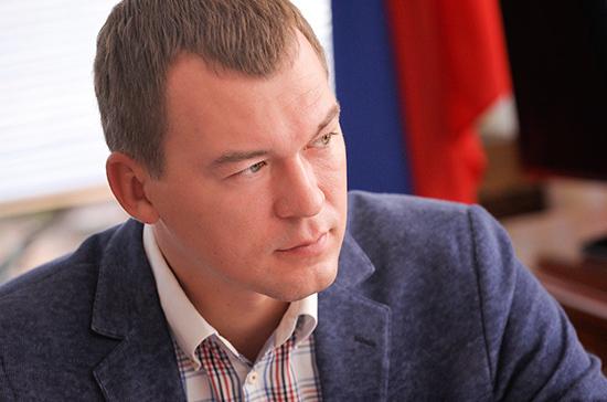 Дегтярев анонсировал перестановки в правительстве Хабаровского края