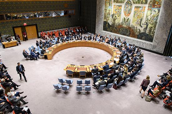 Совбез ООН обсудил акции протеста в Белоруссии