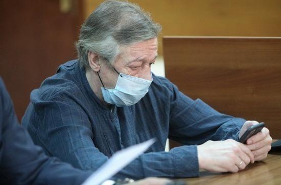 В Пресненском суде прервали процесс по делу Ефремова из-за эвакуации