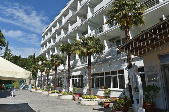 Крымские отели примут участие в программе стимулирования внутреннего туризма