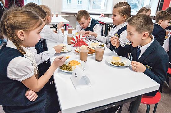 Школы во всех регионах смогут бесплатно кормить учеников младших классов