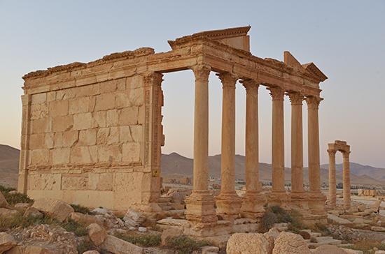 Петербургские археологи создали ключ к восстановлению Пальмиры в Сирии