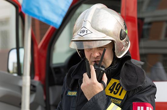 В Башкирии локализовали пожар на кирпичном заводе