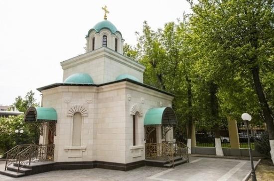 Храм на территории штаб-квартиры «ФосАгро» приписан к Донскому монастырю
