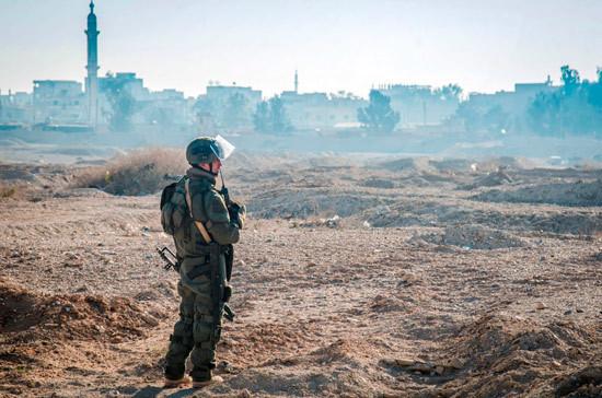 Российских военных обстреляли при патрулировании в Сирии