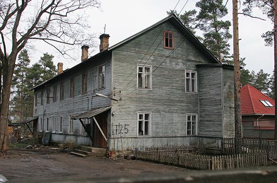 Путин поручил Правительству проработать механизм расселения ветхого жилья