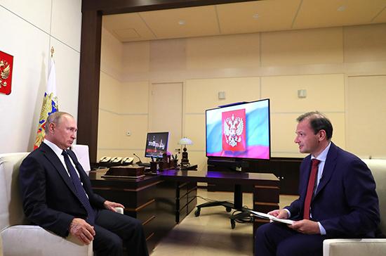 Владимир Путин заявил о выравнивании ситуации в Белоруссии