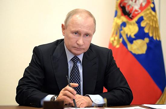 Путин обсудил с Совбезом развитие российско-белорусского сотрудничества