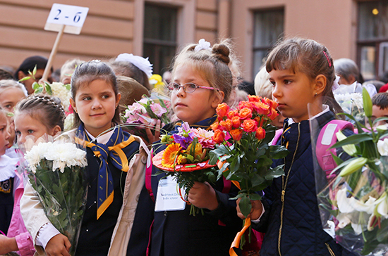 Власти Подмосковья рассказали, как в регионе пройдут школьные линейки