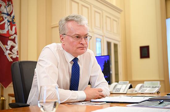 Президент Литвы анонсировал санкции против Лукашенко