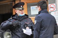 Полицейским разрешили преследовать преступников без фуражки