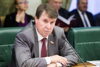Сенатор Цеков прокомментировал ответ комиссара ООН по вопросу водоснабжения Крыма
