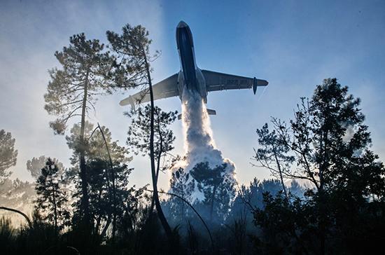 На борьбу с природными пожарами выпускают новые самолёты-амфибии