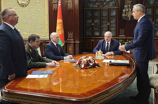 Лукашенко назначил новых глав Совбеза и КГБ Белоруссии