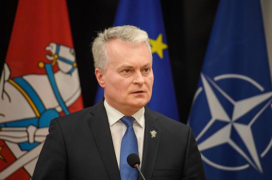 Президент Литвы обещал расширить санкционный список против Белоруссии