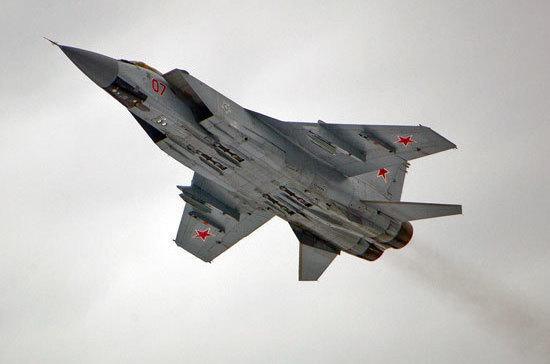 Российский МиГ-31 перехватил норвежский самолёт над Баренцевым морем