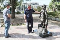 В Волгограде ко Дню города открыли памятник детям Великой Отечественной войны