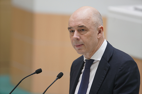 Силуанов оценил меры правительства по поддержке россиян в условиях пандемии