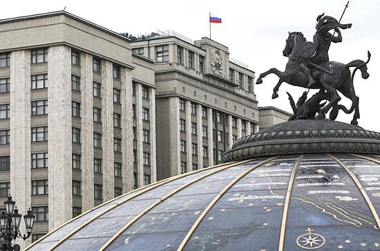 В Госдуме выступили за неукоснительное следование принципам международного права