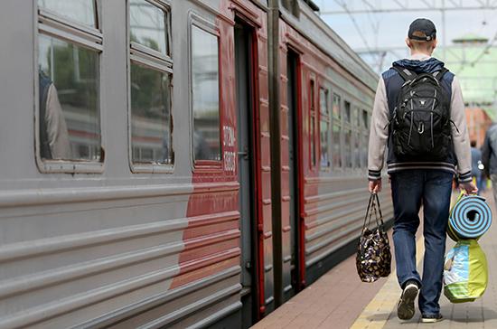Правительству предложили продлить сроки льготного проезда на электричках для студентов