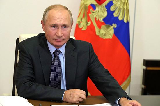 Путин оценил вклад Вучича в развитие российско-сербских связей