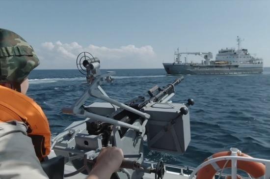 В Черном море обезвредили условных террористов