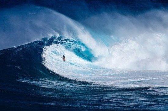 Установлен мировой рекорд среди женщин по покорению гигантской волны