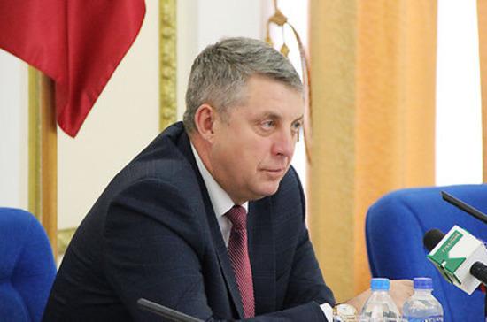 Богомаз набрал 71,7% голосов на выборах главы Брянской области