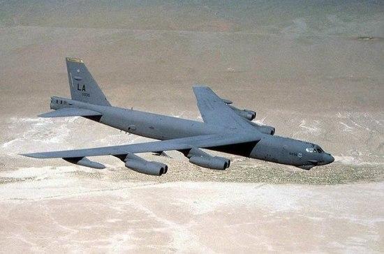 Российские истребители перехватили три бомбардировщика США над Черным морем
