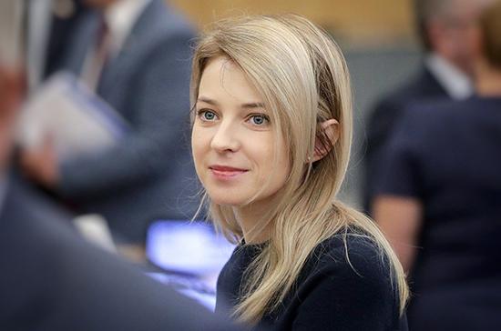 Поклонская направила в ООН данные о прекращении подачи воды Украиной в Крым