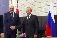 В Сочи начались переговоры Путина и Лукашенко