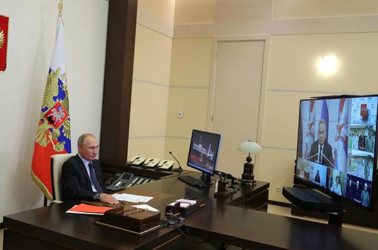 Путин уверен, что Россия эффективно противостоит COVID-19