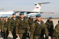 Российские десантники прибыли в Белоруссию для участия в совместных учениях