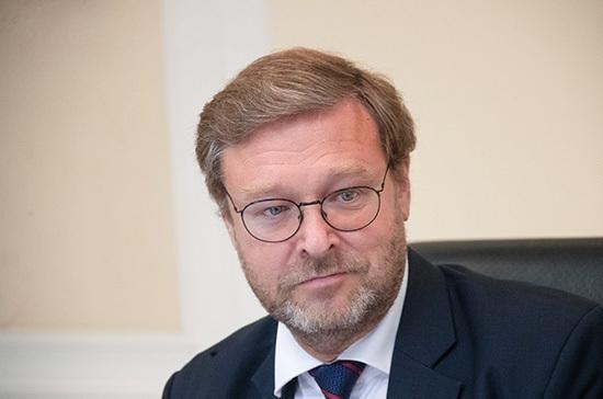 Косачев ответил на заявление главы Еврокомиссии о вмешательстве России в выборы