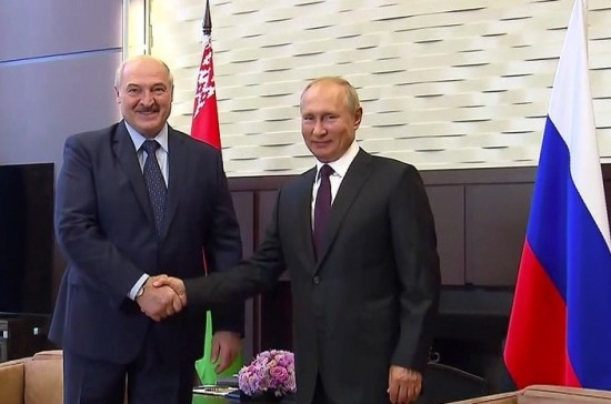 МИД: Путин и Лукашенко подтвердили настрой на реформу Союзного государства