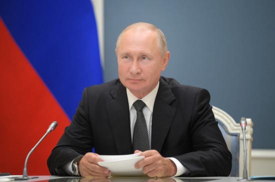Путин назначил представителей при рассмотрении проектов во исполнение поправок в Конституцию