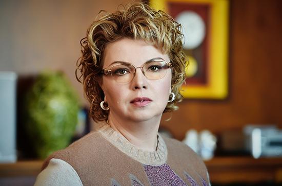Ямпольская рассказала о степени готовности проекта о запрете ускоренной перемотки титров