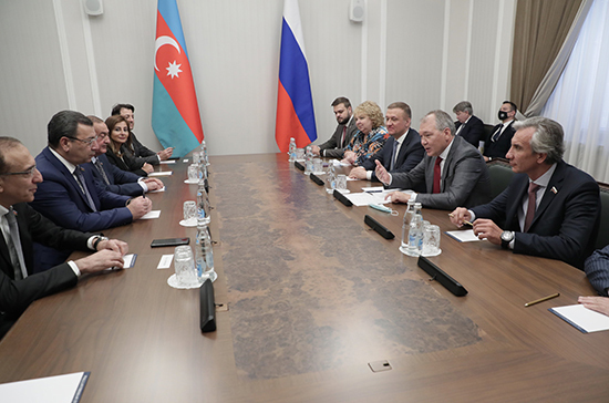В Госдуме отметили активное взаимодействие парламентариев России и Азербайджана