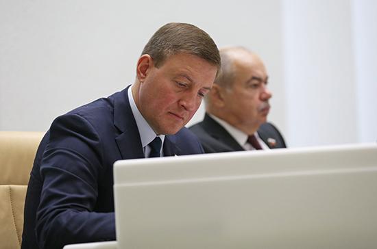 Андрей Турчак и Андрей Яцкин избраны первыми вице-спикерами Совета Федерации