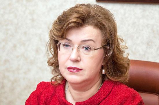 Ольга Епифанова назначена сенатором от Республики Коми